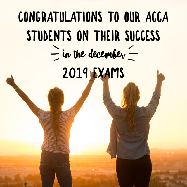 ACCA results 2019